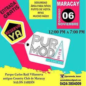 Pura Moda Bazar - 1era Edición