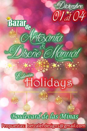 Bazar de Artesanía y Diseño Manual - Holidays