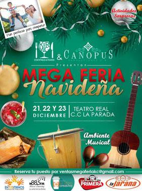 Mega Feria Navideña - Kirmig & Canopus