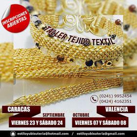 Taller - Tejido Textil - Caracas & Valencia 2016