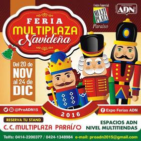 Feria Multiplaza Navideña / 2da Edición - ADN Producciones