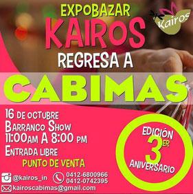 ExpoBazar Kairos, 3er Aniversario- Cabimas