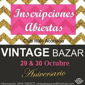 Vintage Bazar - Edición Aniversario