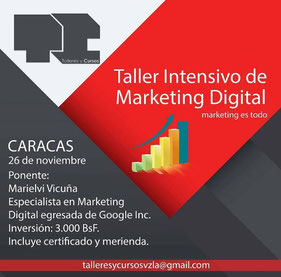 Taller Intensivo de Marketing Digital
