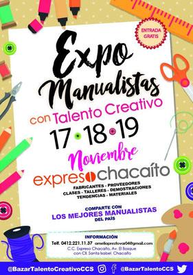 Expo Bazar Manualistas con Talento Creativo