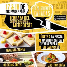 Expo Gourmet Caracas - Diciembre 2016