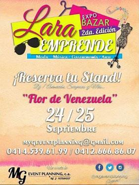 Expo Bazar Lara Emprende - 2da Edición
