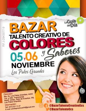 Bazar Talento Creativo de Colores y Sabores
