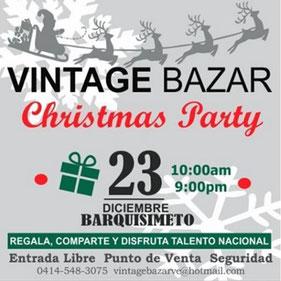 Vintage Bazar - Edición Christmas Party / Barquisimeto