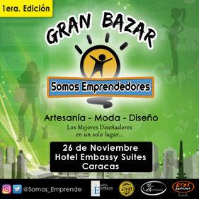 Gran Bazar Somos Emprendedores - 1era Edición