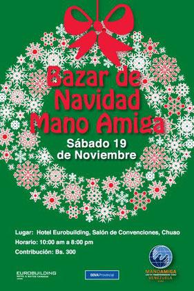 Bazar de Navidad Mano Amiga - 2016