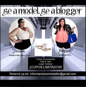 Taller Be a model, be a blogger