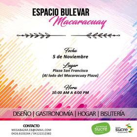 Mega Bazar Macaracuay - 1era Edición