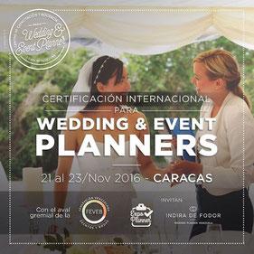 Certificación Internacional Para Wedding & Event Planners