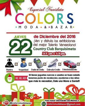 Colors Moda & Bazar - Especial Navideño