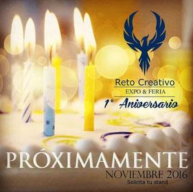 Expo-Feria Reto Creativo - 1º Aniversario