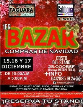 Taguara Creativa - 1er Bazar Compras de Navidad
