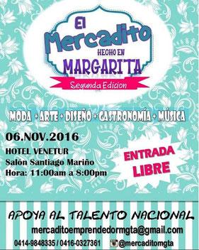 El Mercadito Hecho en Margarita - Segunda Edición