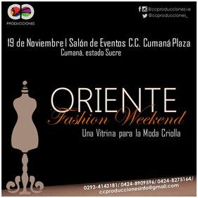 Cumaná creativa - Oriente Fashion Weekend