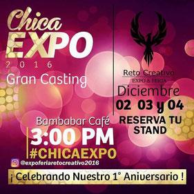 Chica Expo 2016 - Expo Feria Reto Creativo