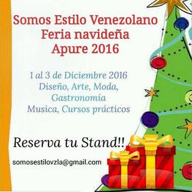 Feria Navideña 2016 - Somos Estilo Venezolano