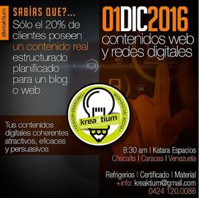 Contenidos Web y Redes Digitales - Kreaktium
