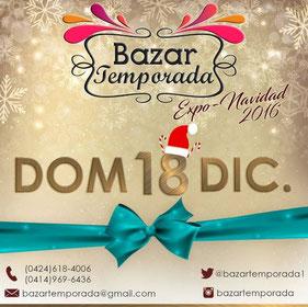 Expo Bazar Temporada Navideña - 3era Edición