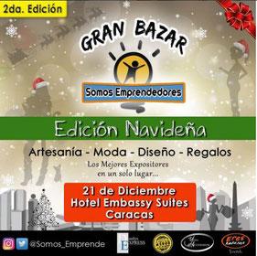 Gran Bazar Somos Emprendedores - Edición Navideña