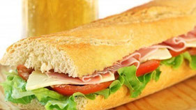Sandwich jambon fromage