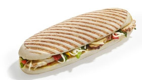 Panini poulet fromage