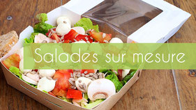 Salades sur mesure
