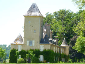 Castle of Corbere-Aberes (Vic-Bilh/Madiran)