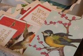 Deko zum Thema Vögel