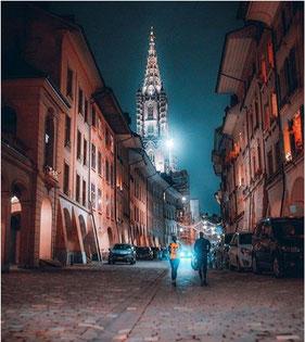 Winternacht in Bern by _bernstagram_fotograf/in: @cdrc_btmn