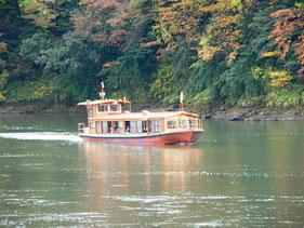 阿賀野川ライン舟下り