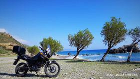 Motorbike in Crete, Bikerental Crete, Rent a bike crete, Motorrad auf Kreta, Kreta mit dem Motorrad
