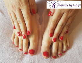 pedicure cnd shellac hand and feet mobile st albans herst