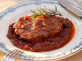 豚肉のトマトソース煮込