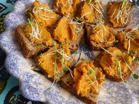 pain sans gluten - fait maison - aperitif