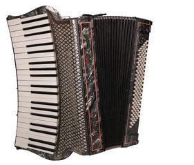 Akkordeon Tango V M gebogenes Griffbrett