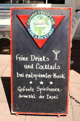 Feine Drinks und Cocktails!
