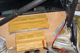 Endstufenpaneel aus MDF Holz für Emphaser Verstärker