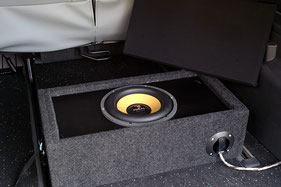 focal power subwoofer in basskiste