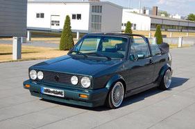 Golf 1 Cabrio Aussenansicht
