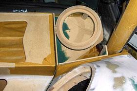 laminierte Lautsprecheraufnahmen aus MDF Holz