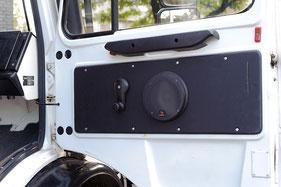 Focal Lautsprecher auf Doorboards im Mercedes