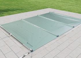 Schwimmbad, Schwimmbadbau, Poolbau, Abdeckung, Rollschutz, Multiversal