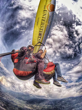 Paragliding Tandemflug Südtirol