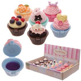 Baume à lèvres cupcake