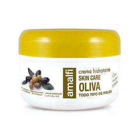 Crème hydratante olive pour tous types de peau